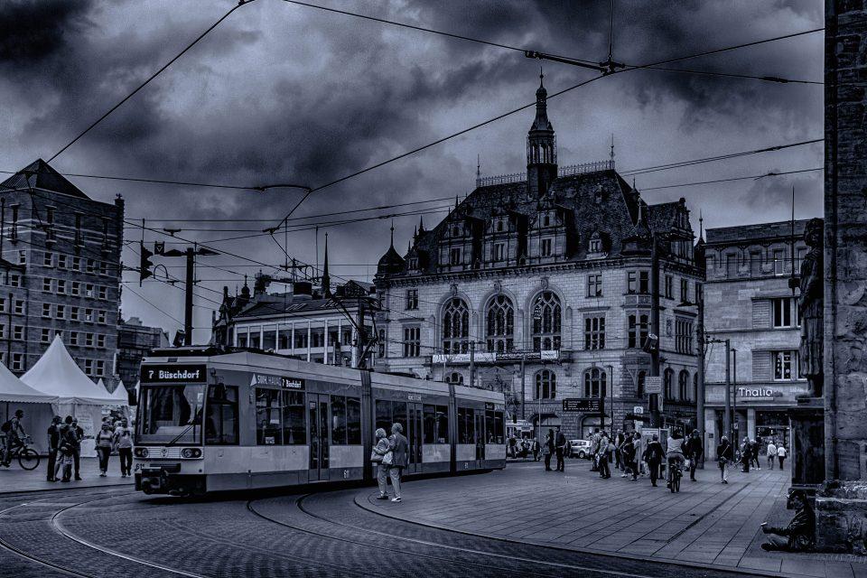 Marktplatz HDR - Halle Online